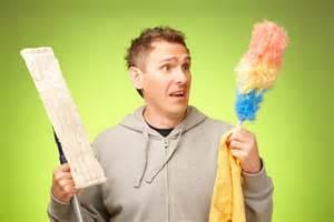 Mężczyźni boją się sprzątać